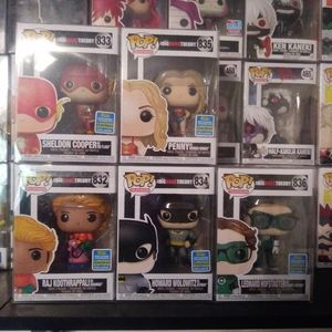 Big bang theory funko set